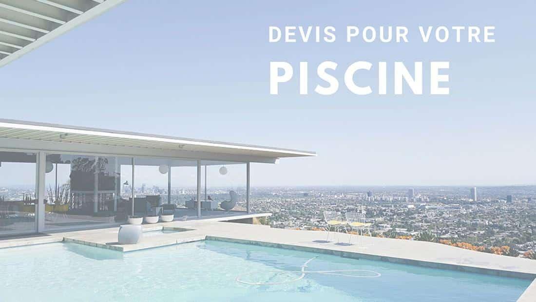 devis piscine