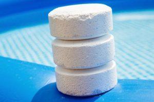 pastille chlore piscine