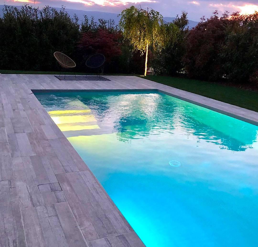 piscine enterrée beton