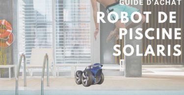 robot de piscine solaris