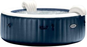 INTEX Spa Gonflable PureSpa Blue Navy 6 Places