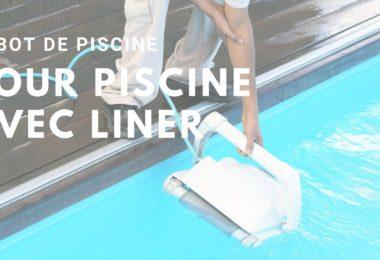 robot de piscine avec liner