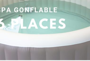 spa gonflable 6 places
