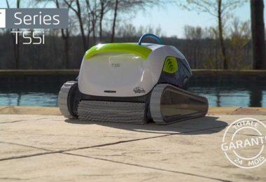 avis robot piscine dolphin t55i