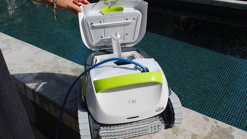 test robot piscine dolphin t35