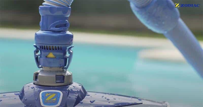 test robot piscine hydraulique zodiac mx8