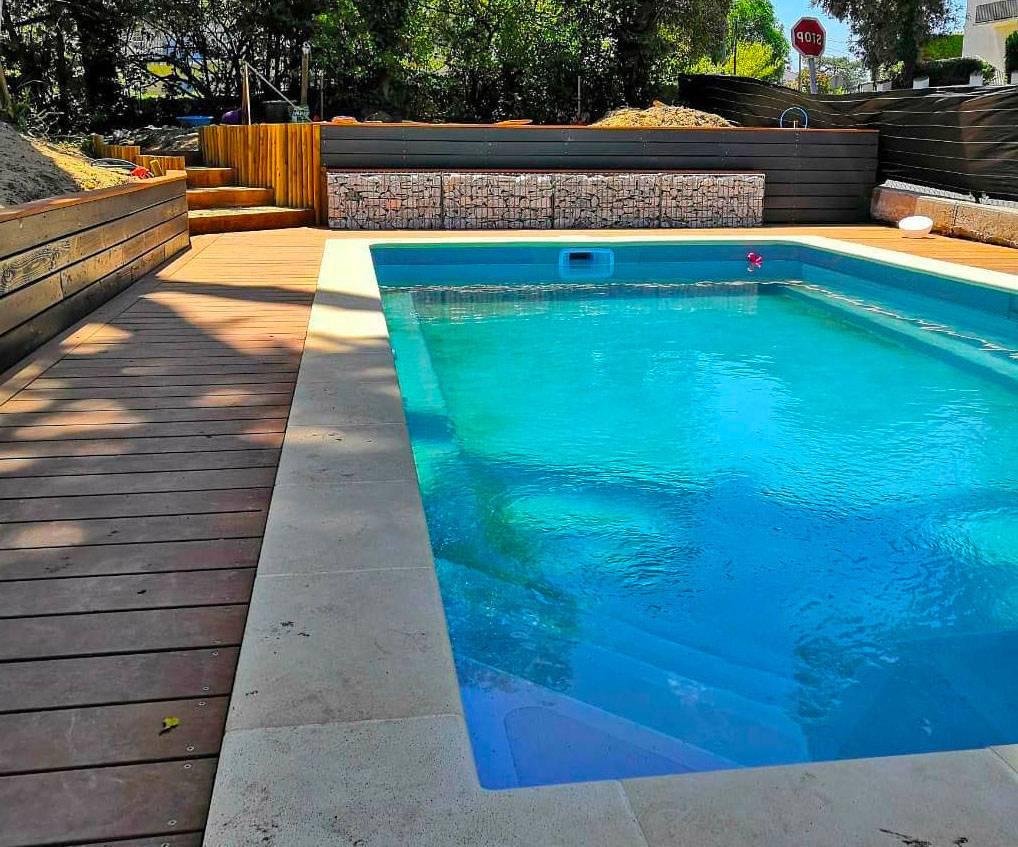 piscine creusée coque