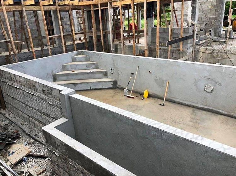 construction piscine a debordement