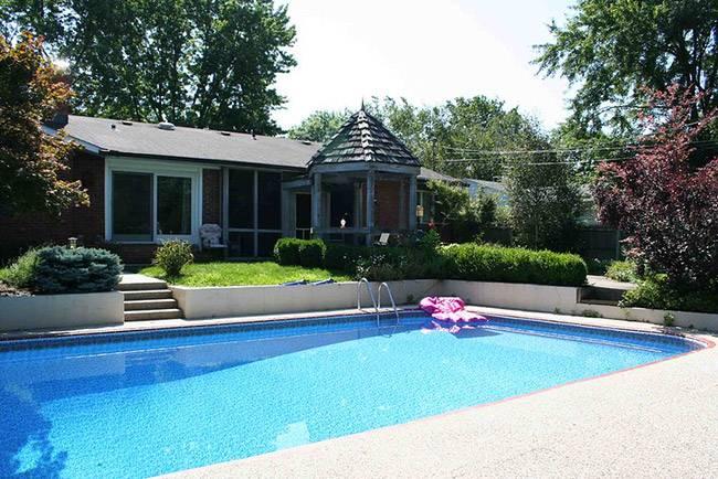 piscine beton 10x4
