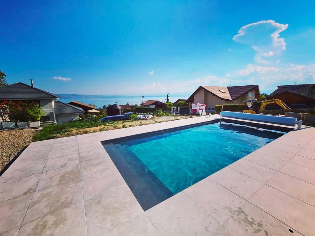 piscine beton 8x4