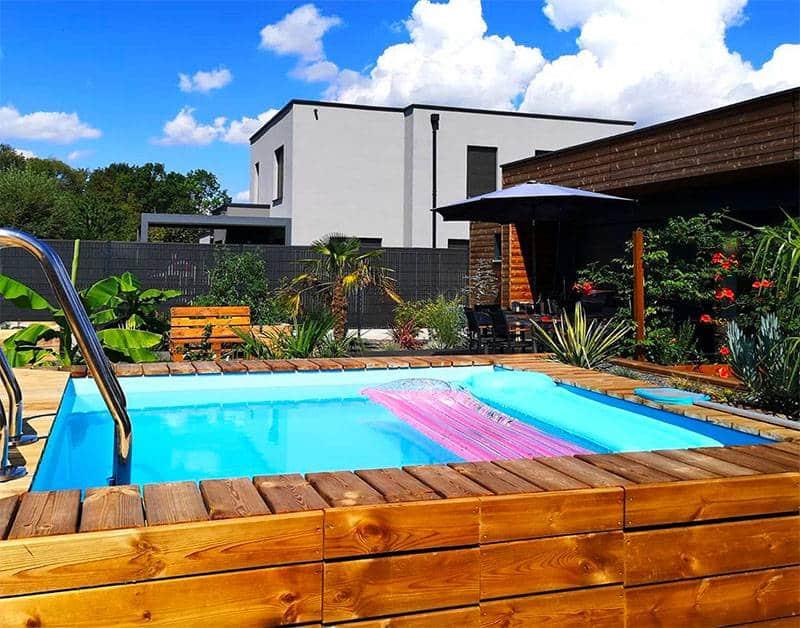 piscine bois 10m2